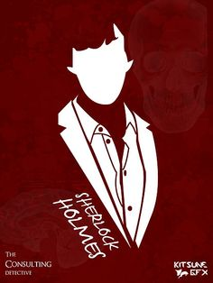 """Sherlock Holmes: The Consulting Detective"" Art Print by user 'KitsuneDesigns' on RedBubble.Com ... #Sherlock #BBC"