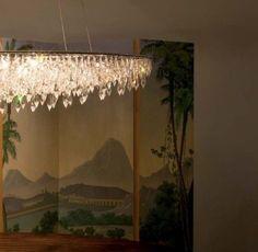 Anthologie Quartett Crystal Rain Leuchtenserie