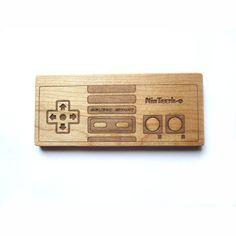 baby geek toy - Teether geekery teething toy. $12.00, via Etsy.