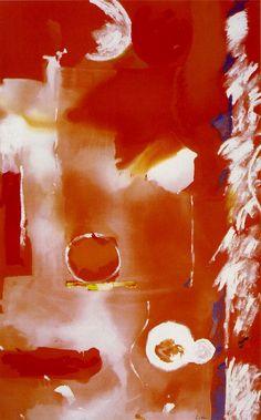 Helen Frankenthaler, Seeing the Sun on a Hot Summer Day, 1986