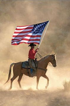 American Cowboy.       Happy 4th!   May we pray for a return to God and morals in this country.