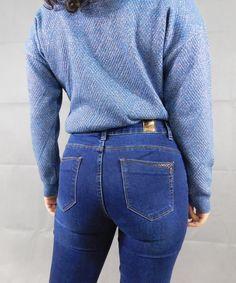 Παντελόνι Jean Σκούρο Μπλε | Vaya Fashion Boutique Women's Trousers, Jeans, Fashion, Moda, Fashion Styles, Fashion Illustrations, Denim, Denim Pants, Denim Jeans