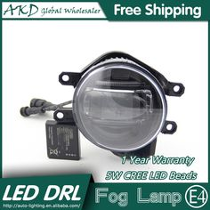 114.71$  Watch now - http://ali73h.worldwells.pw/go.php?t=32785441555 - AKD Car Styling LED Fog Lamp for Toyota Matrix DRL 2009-2015 LED Daytime Running Light Fog Light Parking Signal Accessories