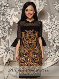 Dress Brokat Modern Kombinasi 52 Ideas For 2019 - - Dress Brokat Modern Kombinasi 52 Ideas For 2019 Source by lorriereedman Model Dress Batik, Batik Dress, Batik Kebaya, Trendy Dresses, Simple Dresses, Nice Dresses, Fashion Dresses, Gaun Dress, Kebaya Dress