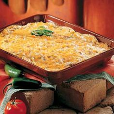 Chicken Tortilla Bake (one of those quick & easy casseroles when you really don't want to cook - tastes wonderful - add a salad and you have a good meal)