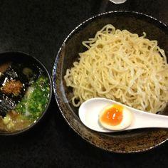 Shio Tsukemen @Mendokoro Hasumi