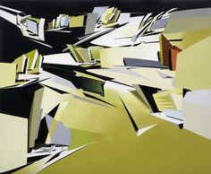 El proceso creativo de Zaha Hadid a través de sus pinturas,Hafenstrasse Development. Image Cortesía de Zaha Hadid