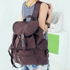 Awesome $10.46 Korean Style Casual Women's Satchel With Color Matching and Canvas Design... Sammydress Check more at http://fashionie.top/pin/35290/