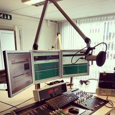 Radio studio.