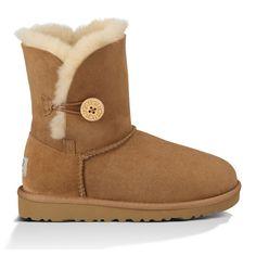 UGG Girl's Bailey Button Sheepskin Boot from California Republic Clothes
