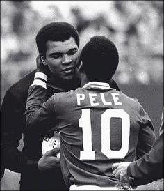 Pele and Ali