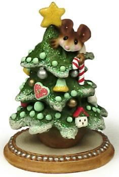 Christmas: Wee Forest Folk - Tree Alone
