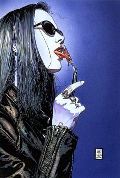 SONJA BLUE!  Tim Bradstreet - Vampire: The Masquerade