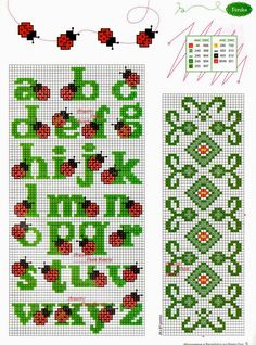 Thrilling Designing Your Own Cross Stitch Embroidery Patterns Ideas. Exhilarating Designing Your Own Cross Stitch Embroidery Patterns Ideas. Embroidery Alphabet, Learn Embroidery, Hand Embroidery Patterns, Cross Stitch Embroidery, Cross Stitch Letters, Cross Stitch Flowers, Stitch Patterns, Craft Patterns, Crochet Cross