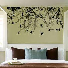 Baum Ast Blätter Mit Vögel Wandtattoo Aufkleber Bei Yatego Kaufen   Ein  Angebot Von Dee Plus Limited Partnership