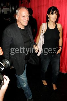 David Gilmour and Wife Polly Samson (68)