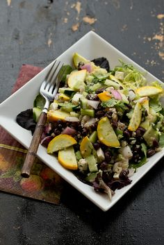Black Beans & Quinoa Salad