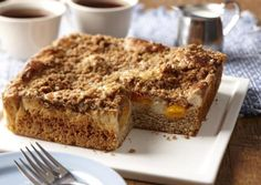I found this recipe for Fruit and Cream Streusel Coffee Cake , on Breadworld.com. You've got to check it out!