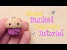 Polymer Clay Sand Bucket Cupcake Tutorial - Tea Party Collab ☀️