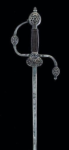 Espada ropera - ¿Inglaterra? - 1630-1640