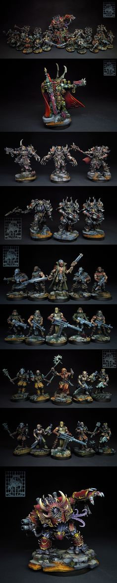 Dark Vengeance. Chaos. (I was thinking of buying this set for the including Chaos, and to convert the Dark Angels into Chaos Marines.