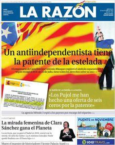 Los Titulares y Portadas de Noticias Destacadas Españolas del 16 de Octubre de 2013 del Diario La Razón ¿Que le pareció esta Portada de este Diario Español?