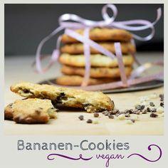 Schnelle, weiche Cookies für Spontanbesuch #vegan #vegetarisch #whatveganseat #banana #foodblog #rezepte #foodie #whatfatveganseat #cookie #chocoholic Brownie Cookies, Sweet Dreams, Brownies, Sweets, Breakfast, Food, Vegan Dishes, Vegan Recipes, Biscuits