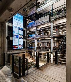 *코워킹 오피스 환경 구축을 위한 디트로이트 빌딩 리노베이션 [ Neumann/Smith Architecture ] Lowe Campbell Ewald Headquarters :: 5osA: [오사]