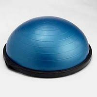 BOSU Ball - HOW TO USE A BOSU FOR EXERCISE WITH CHILDREN  by AMANDA MATHEWS on SEPTEMBER 30, 2011