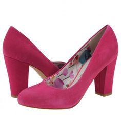 Pantofi casual dama Marco Tozzi pink suede Pumps, Heels, Casual, Pink, Fashion, Accessories, Heel, Moda, Fashion Styles