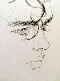 Pencil Portrait Mastery - adria / mercuri - Discover The Secrets Of Drawing Realistic Pencil Portraits #DrawingFaces