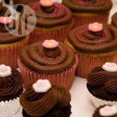 Cobertura (Frosting) de chocolate para Cupcakes @ allrecipes.com.ar