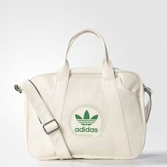 Perforated Airliner Bag - White Adidas Bags 73dd62c289bd6