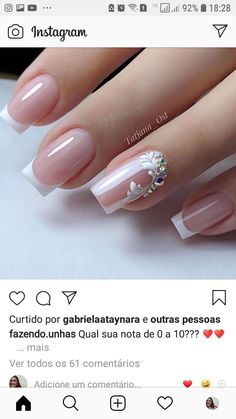 Nail Designs Toenails, Cat Nail Designs, Simple Acrylic Nails, Simple Nails, Nails Today, Bridal Nail Art, Cat Eye Nails, Bride Nails, Wedding Nails Design