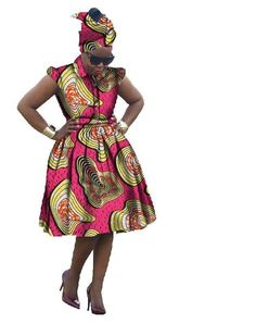 2017 Autumn Dress African traditional Dashiki for woman Bazin Riche elegant Afri #BintaRealWax #Dashiki