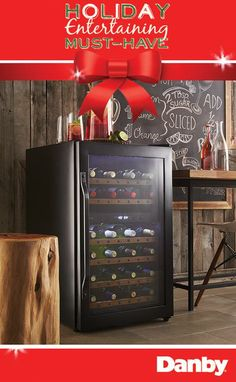 Beautiful wine cooler makes a great holiday gift! http://www.danby.com/en/CA/our_products/refrigeration/dwc040a2bdb