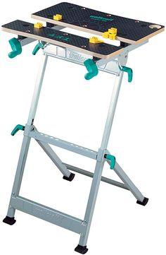 wolfcraft Foldable Workbench DIY Home Workshop With Vise Master 600 6182000 for sale online Bar Bench, Bench Vise, Garage Bench, Garage Atelier, Diy Workbench, Portable Table, Home Workshop, Space Saving Storage, Master