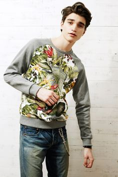 "strangeforeignbeauty: ""Alexander Ferrario for Ron Herman Japan Spring/Summer 2014 Lookbook """