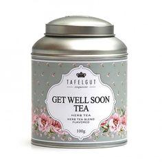 Tafelgut Kruiden thee Get well Soon ~ 25 gr. | Verse thee en kandijsuiker | Kadootjesvoorhaar
