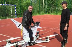 The hoverbikes are coming