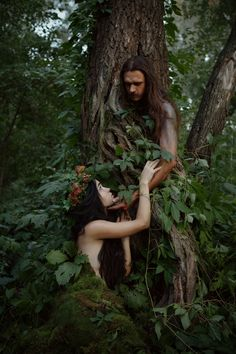 Deep into the forest by Maryna Khomenko Forest Photography, People Photography, Photography Ideas, Calming Images, Forest People, Woodland Elf, Forest Elf, Mystical Forest, High Fantasy