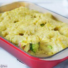 Kip broccoli ovenschotel