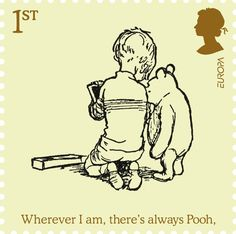 British Stamp - 1st Stamp (2010)