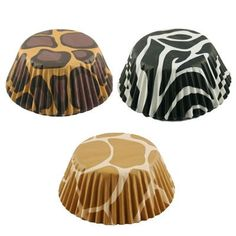 Fox Run Brands Animal Print Baking Cup Papers: Amazon.com: Kitchen & Dining