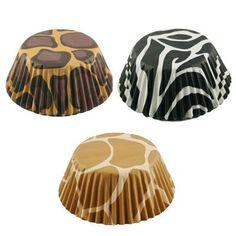 Animal Print Cupcake Liners