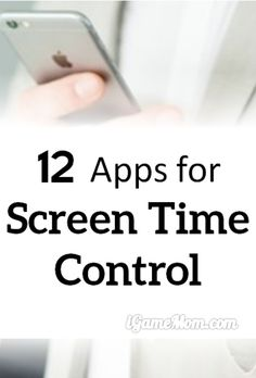 Are your kids spending too much time on screen? How about yourself? Use these screen control apps to help the whole family limit the screen time and have more quality family time together. #LimitScreenTime #ParentalControl
