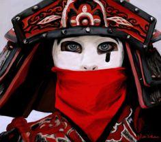 Jared Leto\Chinese warrior - Digital painting by Musiriam