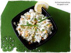 Szybka surówka na obiad z kapusty pekińskiej i kukurydzy