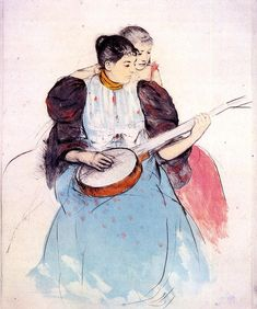 The Banjo Lesson, 1893, Mary Cassatt