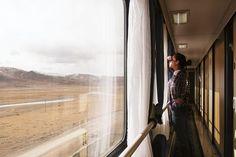 Around the world by rail